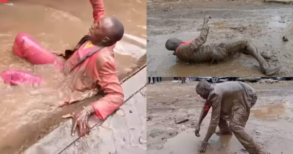 Kisii artiste Geoffrey Magembe's music videos are emulating Embarambamba's stunts.