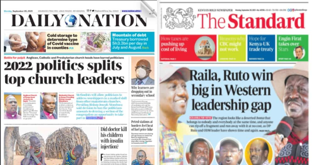 In the newspapers: A section of members of parliament propose two holders of the office of deputy president.