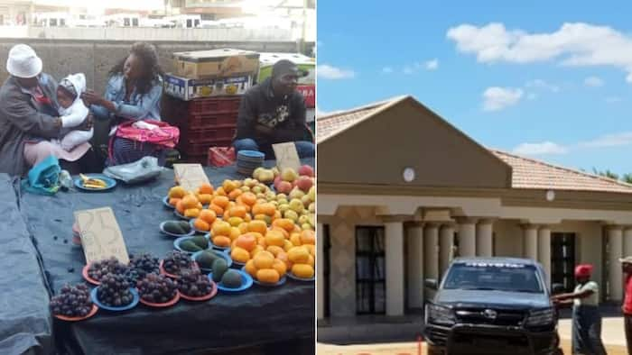 Proud siblings buy their mother who sold fruits to raise them brand new house