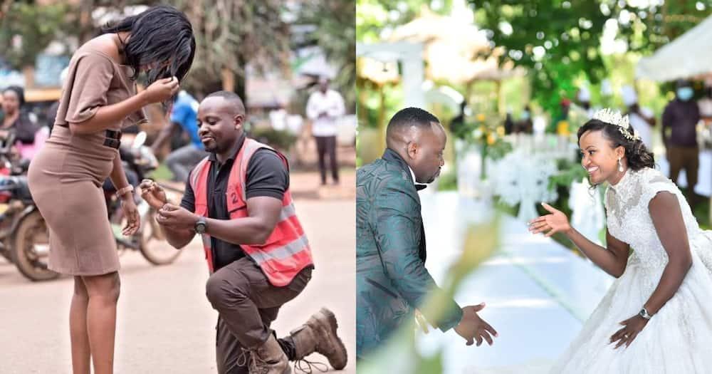 Samson 'Sams' and Hope Kaggwa.