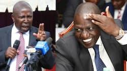 Jubilee nominated MP Maina Kamanda heckled in Kirinyaga