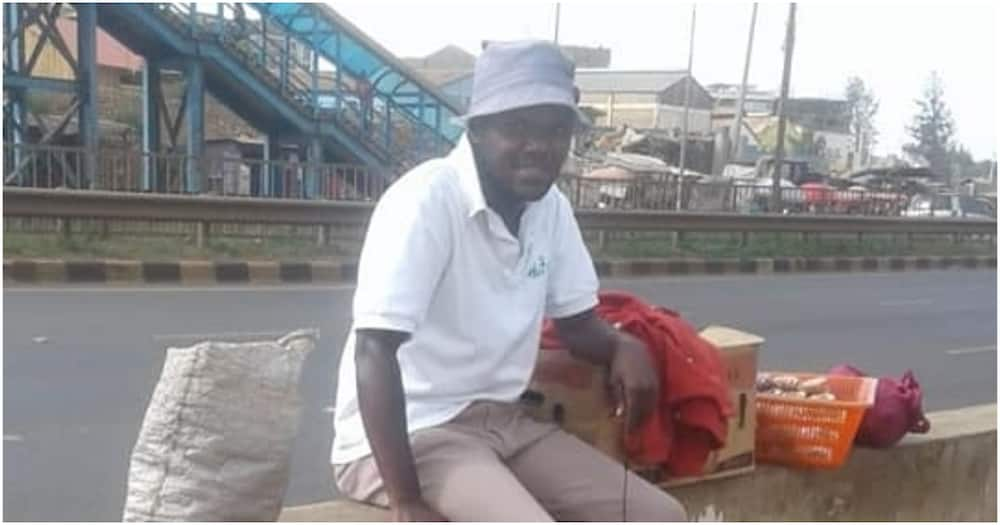 Kenyan man inspires people online after narrating how he made KSh 100k by hawking sweets