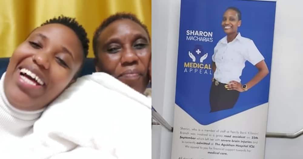 Actress Nyokabi Macharia Celebrating with her mom.