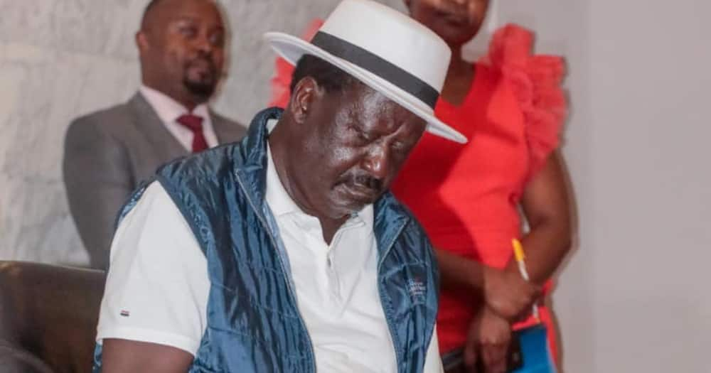 """Raila Discloses His Family Once Stayed with Uhuru's Elder Sister Margaret: """"We are Brothers"""""""