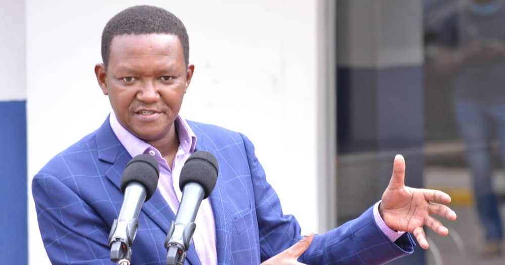 Governor Mutua said the deputy president had been part of Jubilee failures.