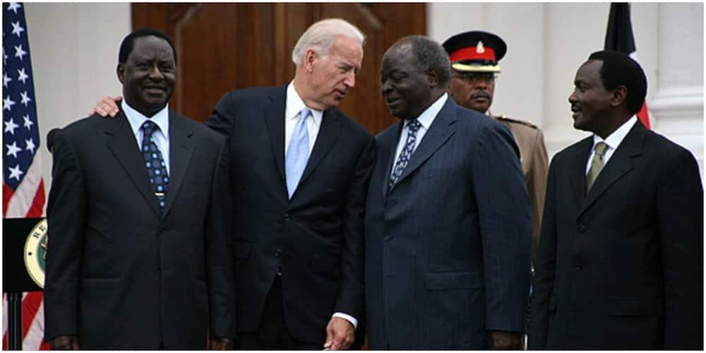 Uhuru, Raila lead Kenyans in congratulating Joe Biden, Kamala Harris for their victory