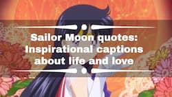Sailor Moon quotes: inspirational captions about life and love