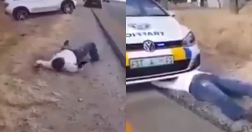 Clip of man behaving like a snake leaves netizens scratching their heads