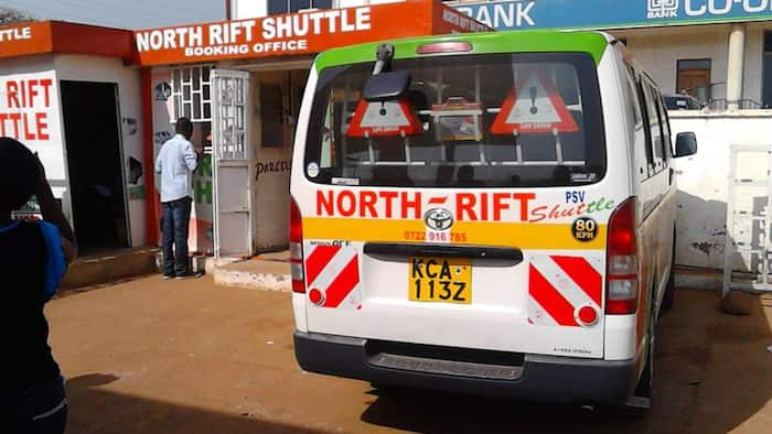 North Rift Shuttle service route, contacts, offices, booking