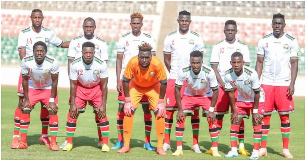 FIFA rankings: Harambee Stars move 3 places up