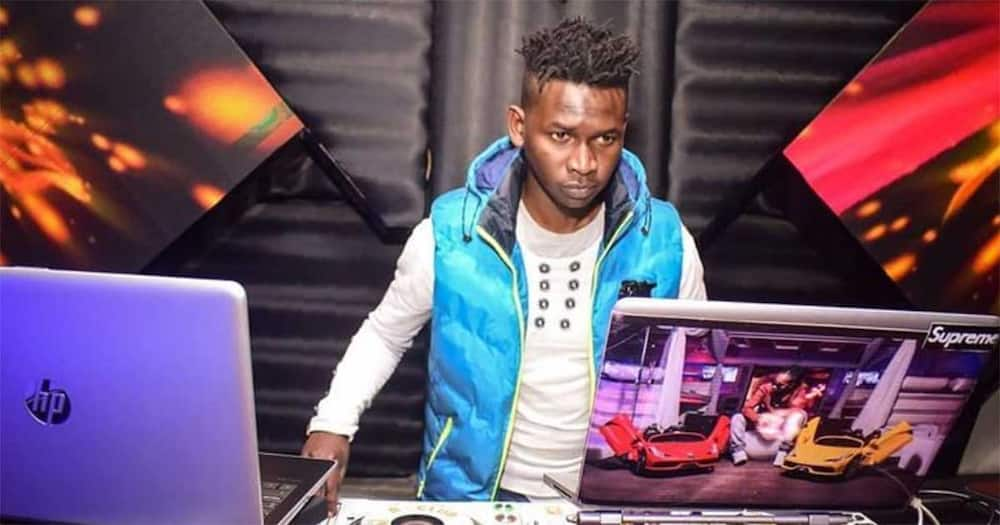 DJ Evolve fainted after receiving news of his mother's death.