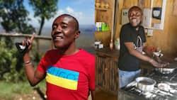"""Maina Kageni tickled by Bukusu man who hilariously """"blessed"""" whisky bottle"""