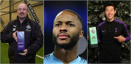 Sterling, Son, Benitez win Premier League Player, Goal, Manager of November