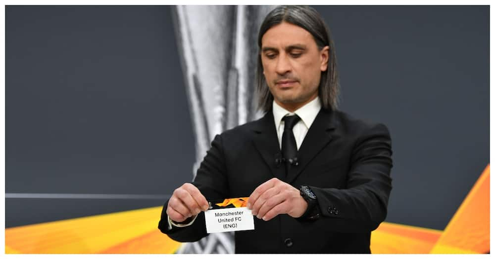 Europa League draw: Man United, Arsenal handed tough last 16 opponents