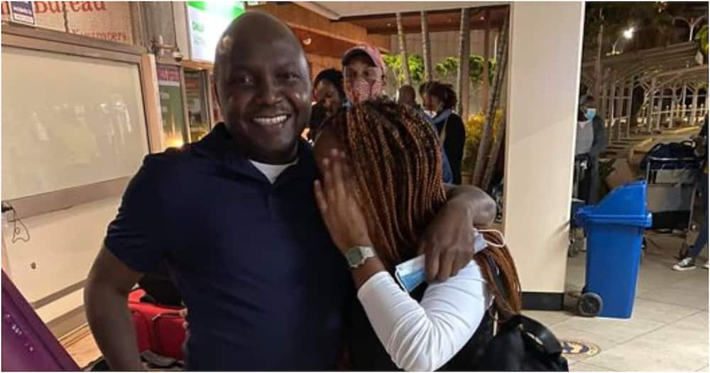 Lawyer Donald Kipkorir sees off daughter as she goes back to school in London