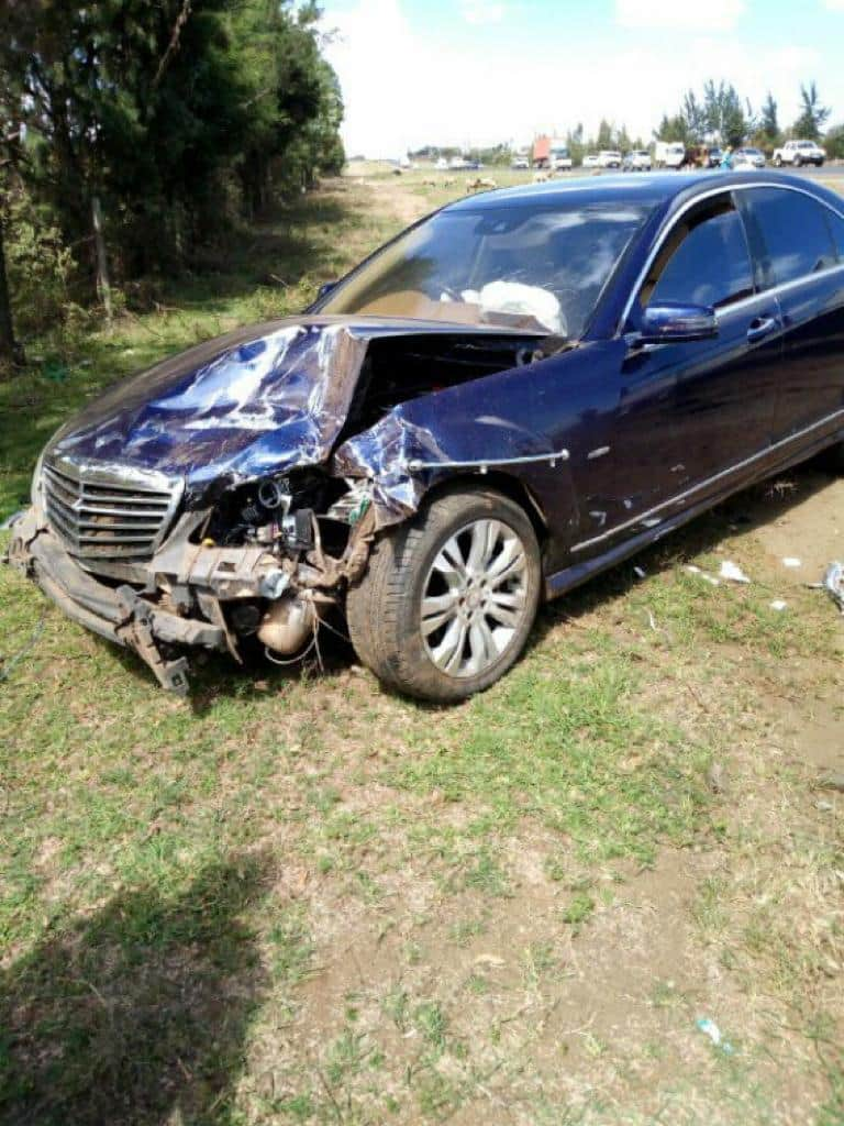CJ David Maraga to cater for treatment of driver whose car collided with his