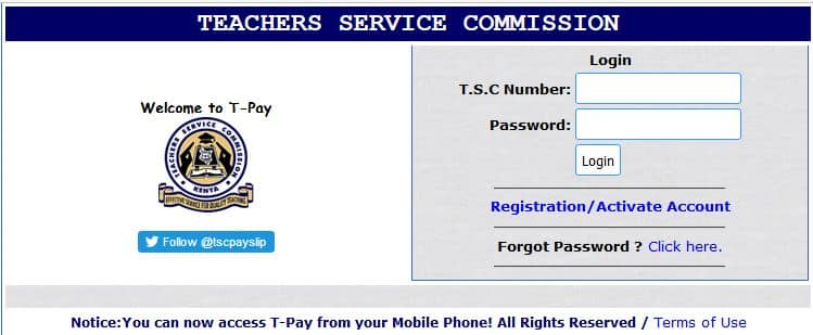 How to get your TSC registration certificate online