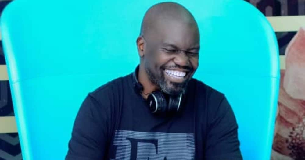 James Ones was a radio DJ at Sanyu FM. When he got fired in June 2020, he launched his own online radio station to continue with his passion. Photo: James Onen.