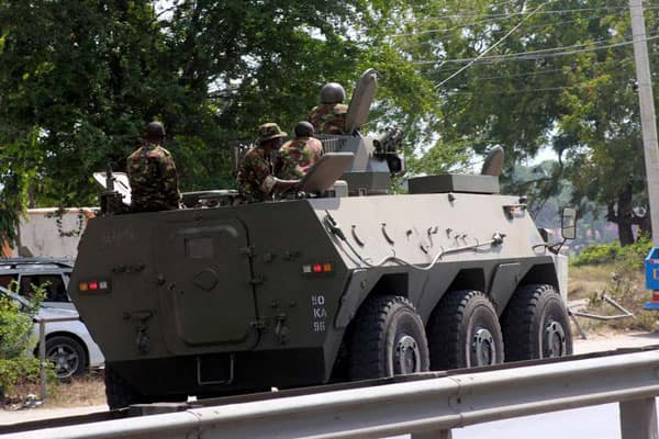 2 al- Shabaab arrested after blowing up military vehicle in Lamu