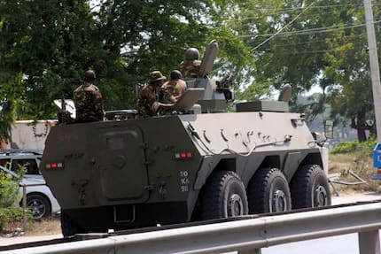 2 al- Shabaab militants arrested after blowing up military vehicle in Lamu