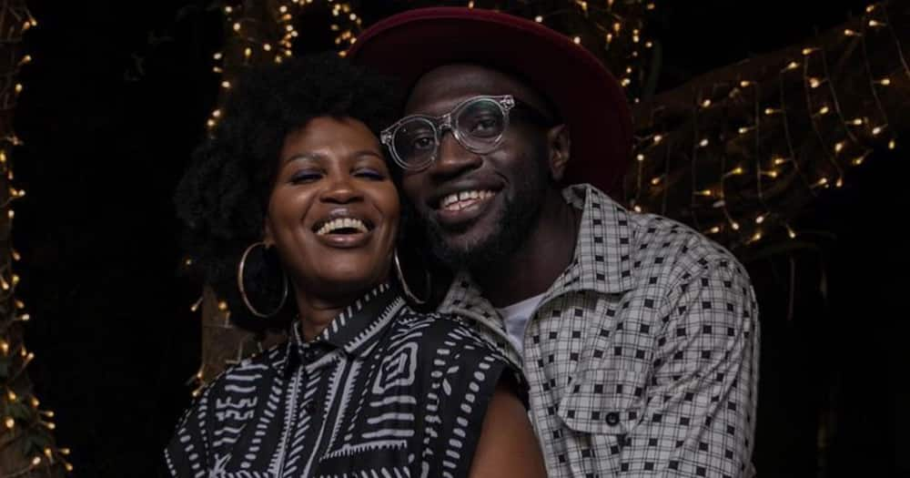 Sauti Sol's Fancy Fingers has showered wife Mandy with praise on her birthday.