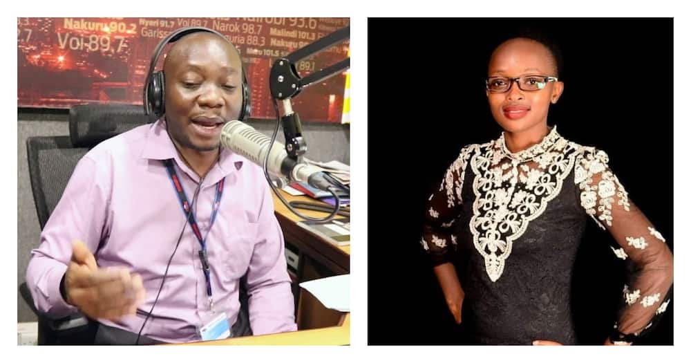 Radio host Francis Luchivya in paternity test drama with former lover