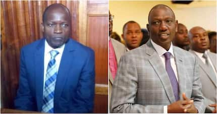 Okoth Obado attended function with Ruto, tried to dodge detectives moments before arrest