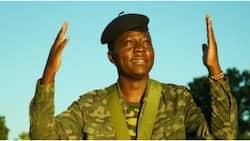Kitale Comedian Who's Sought Military Job Since 2013 Walks 47 Kilometres to Mark KDF Day 2021