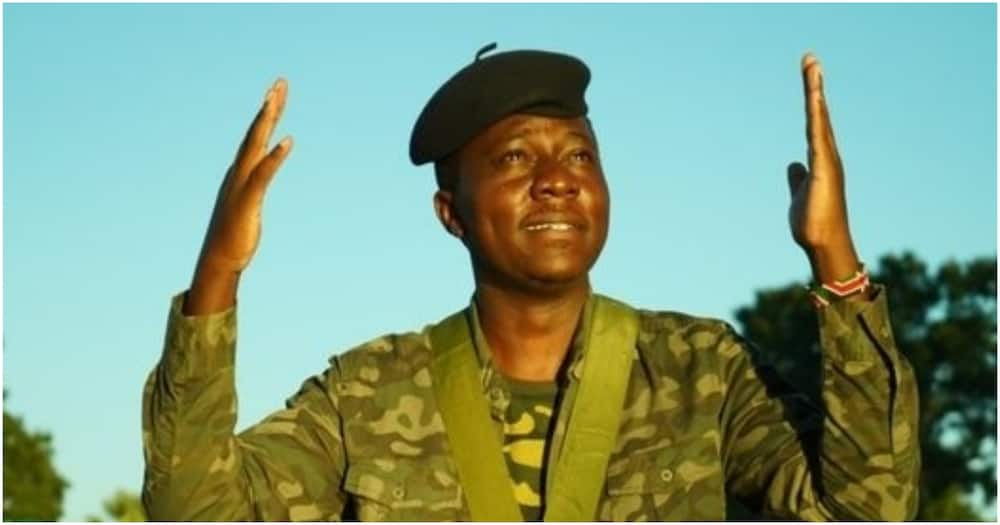 Kitale comedian who's been seeking KDF job since 2013 says he's driven by passion to serve