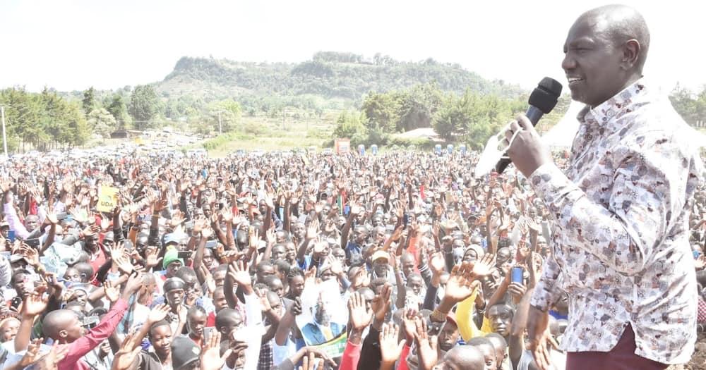 William Ruto calls for tolerance after police disrupted Tanga Tanga meeting in Nakuru