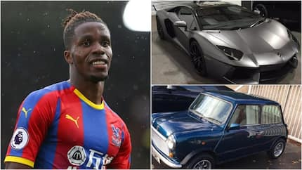7 exotic cars you will find in ex-Man United star Wilfred Zaha's garage worth over KSh130 million