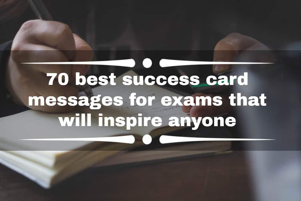 success card messages