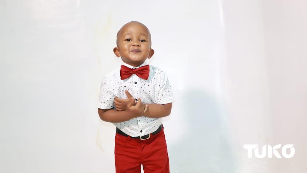 Exclusive: 2-year-old baby boy inspires Kenyans after releasing gospel song