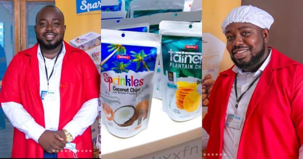 Derrick Annoh: Meet the Legon graduate behind the snack brand Sparkxx Foods & Beverages
