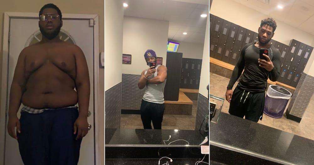 American man's dramatic weight loss goes viral, stuns social media