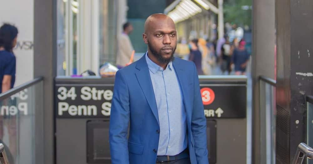 Larry Madowo shows off stunning Audi ride, fans believe he owns the ride