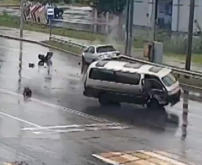 Thank God: Heroic man saves child who fell out of moving car