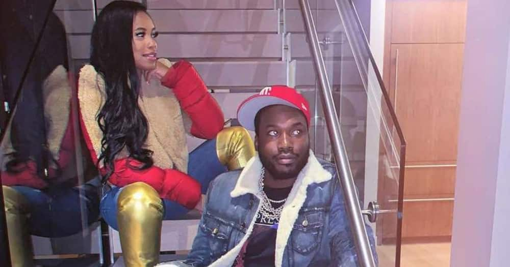 Meek Mill splits with baby mama days after being accused of cheating with Kim Kardashian