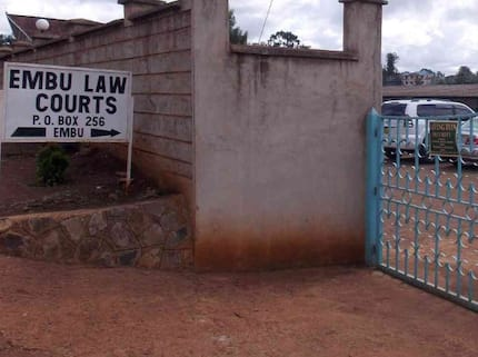 Drama as Embu man appears in court without any clothes