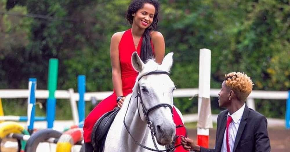 Eric Omondi's ex Chantal shows off fine man, fans think he's her new lover