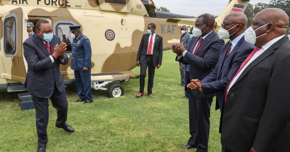 Uhusiano baridi kati ya Ruto na Uhuru wapungua wakati wa sherehe Kisii