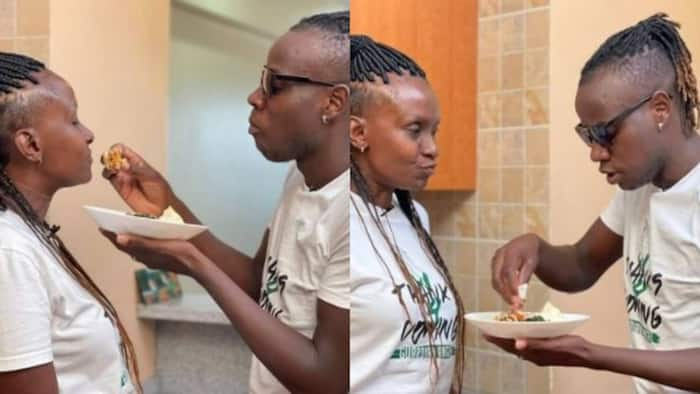 """Guardian Angel's Fiancee Esther Musila Gives Fans Tips on Marriage: """"Marry Someone Who Drives You Crazy"""""""