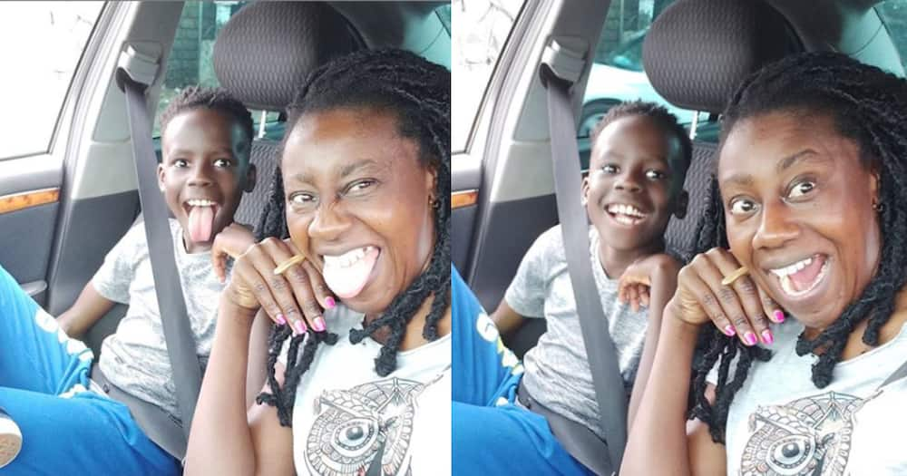 Wilbroda excites fans with lovely photos of all grown son Xolani