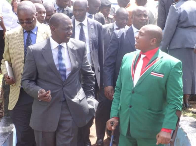 Nominated Jubilee MP Ole Sankok bashed for allegedly using disability status to gain political mileage