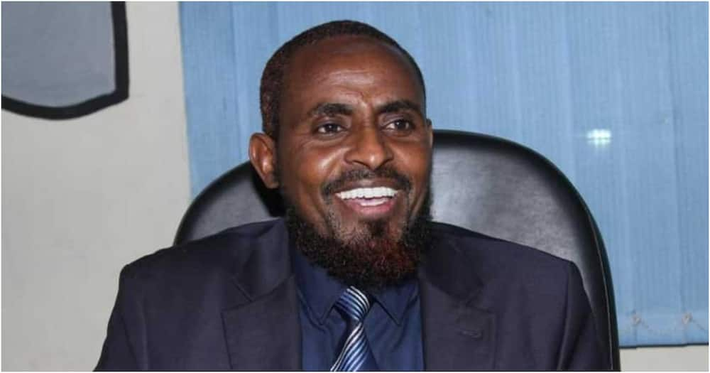 The 2013 and 2017 presidential aspirant Mohammed Abduba Dida. Photo: Mwalimu Dida.