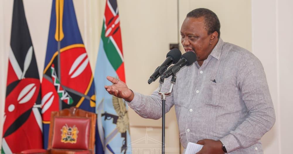 President Uhuru Kenyatta.