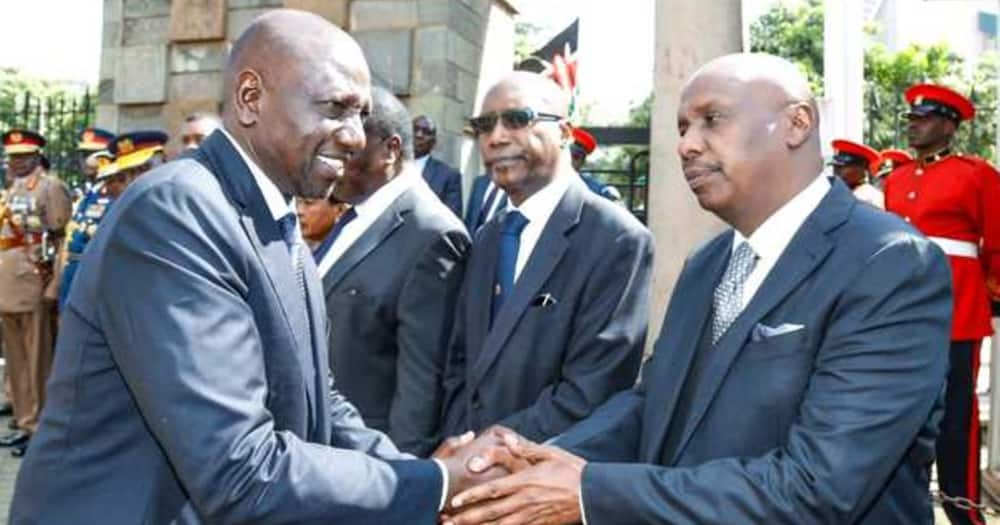 """Ruto pledges KSh 1M for construction of church sponsored by Gideon Moi: """"We're united"""""""