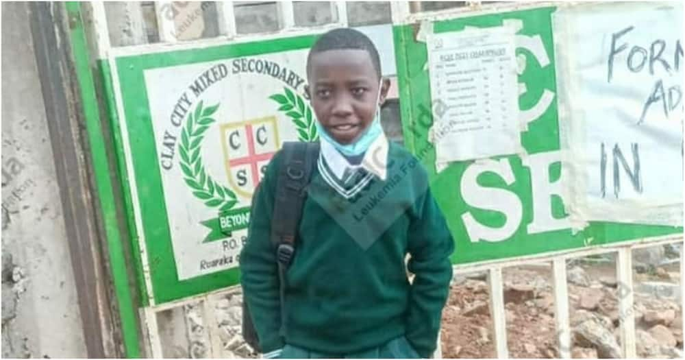 Proud Moment as Bone Cancer Survivor Joins Form One after Wellwishers Intervene