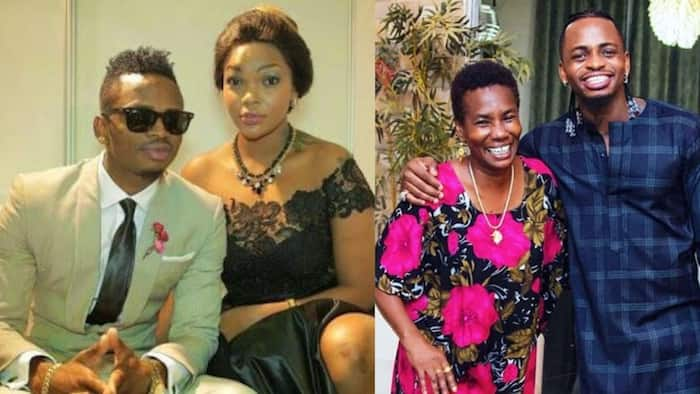 Diamond's Mum Gives Shout Out to Wema Sepetu after Singer Dropped New Hit, Mentions Estranged Ex-Lover