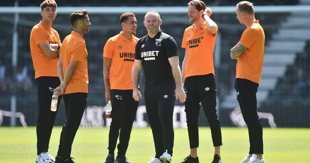 Wayne Rooney Derby County.